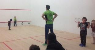 Squash club baia mare - lansare