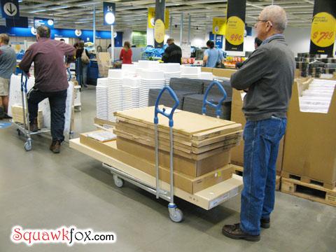Ikea lineup