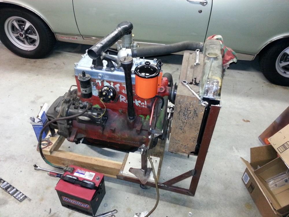 medium resolution of willys l134 engine stand