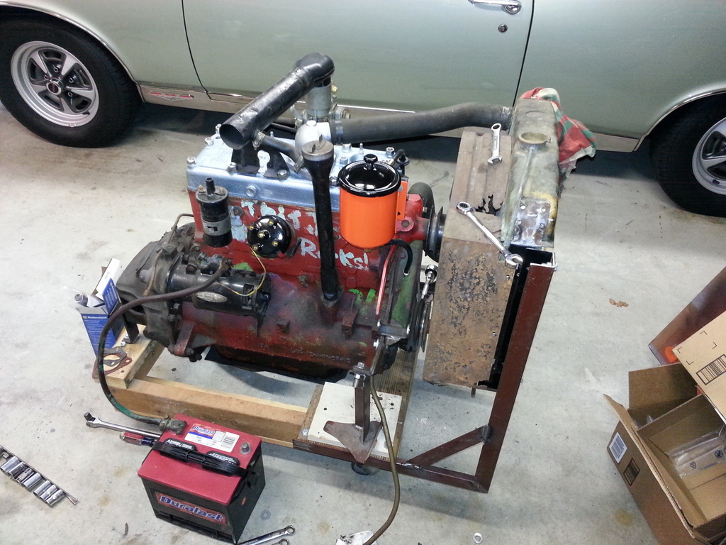 hight resolution of willys l134 engine stand