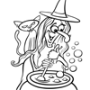 Halloween Coloring Pages at Squigly's Playhouse