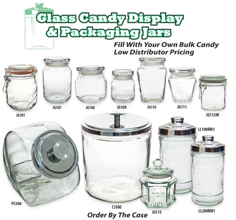 Candy Display Jars  Containers  Squire Boone Village