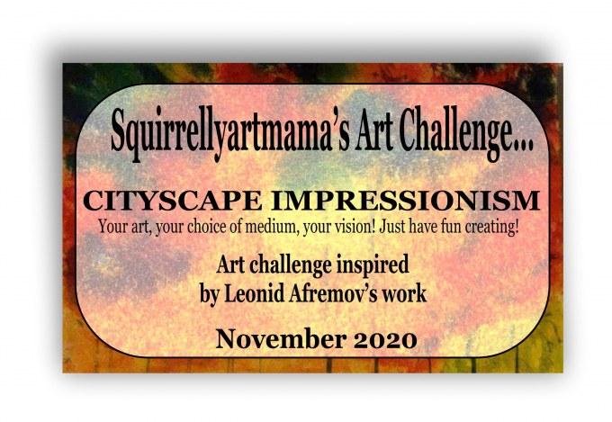 Art Challenge November 2020