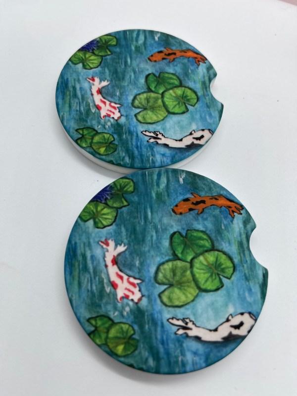 Sandstone Car Coasters
