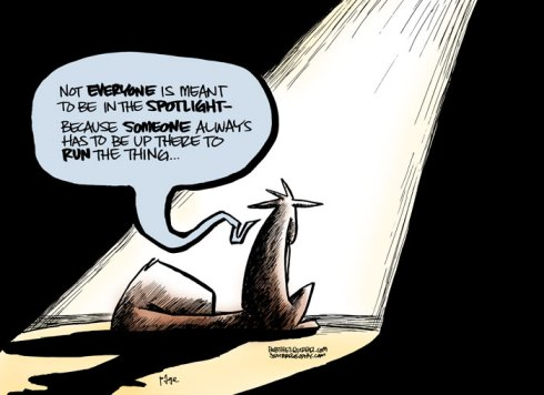 spotlight syndrome