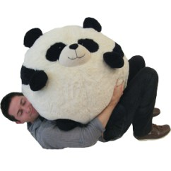 Panda Bean Bag Chair Cool Game Chairs Massive An Adorable Fuzzy Plush To Snurfle And Squeeze