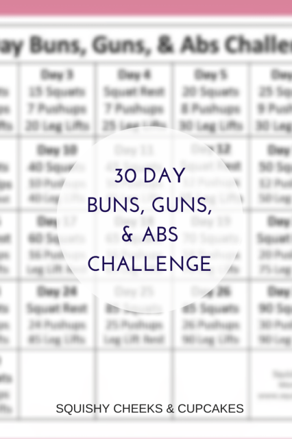 Monthly Fitness Challenge Pin Visual