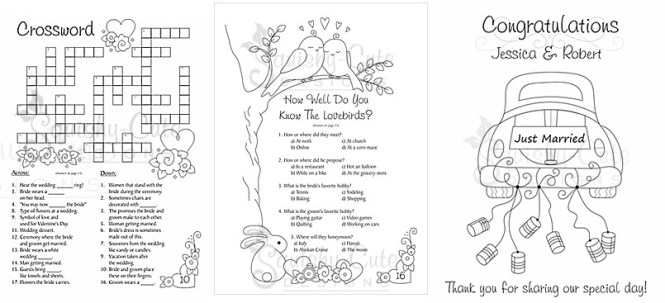 wedding coloring book   Coloring Page for kids