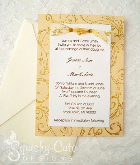 Homemade Wedding Invitations Ideas With Charming Design The How To Select Designs