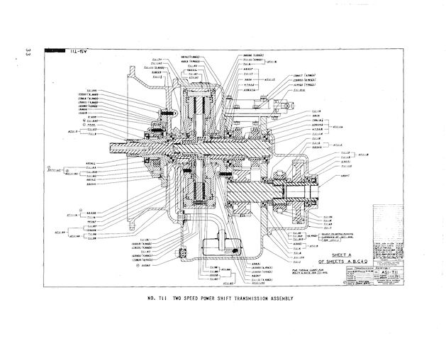 Borg Warner automotive and truck transmissions (undated)