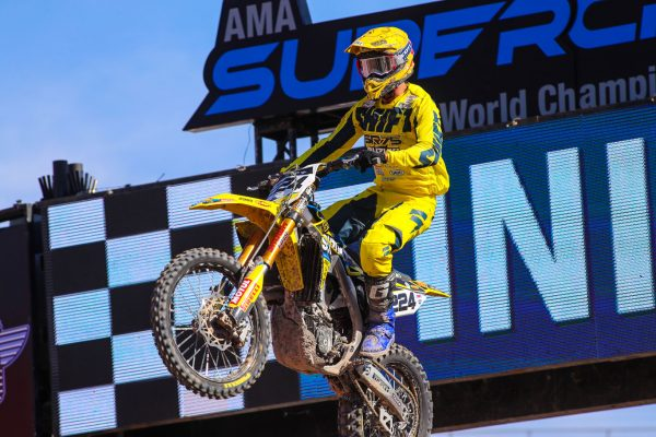 main event points for sr75 & lefrancois at las vegas supercross