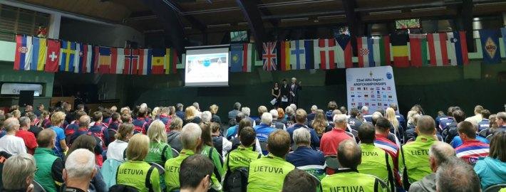 ARDF EM-kisat 2.9.-8.9.2019 Sloveniassa /ARDF EM-tävlingarna 2-8.9.2019 i Slovenien