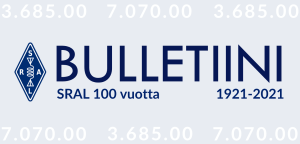 Suomen Radioamatööriliiton toimiston tiedote 03/2021, 23.1.2021