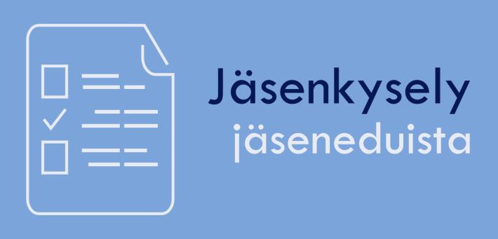 Jäsenkysely Liiton jäseneduista / Enkät om SRAL:s medlemsförmåner