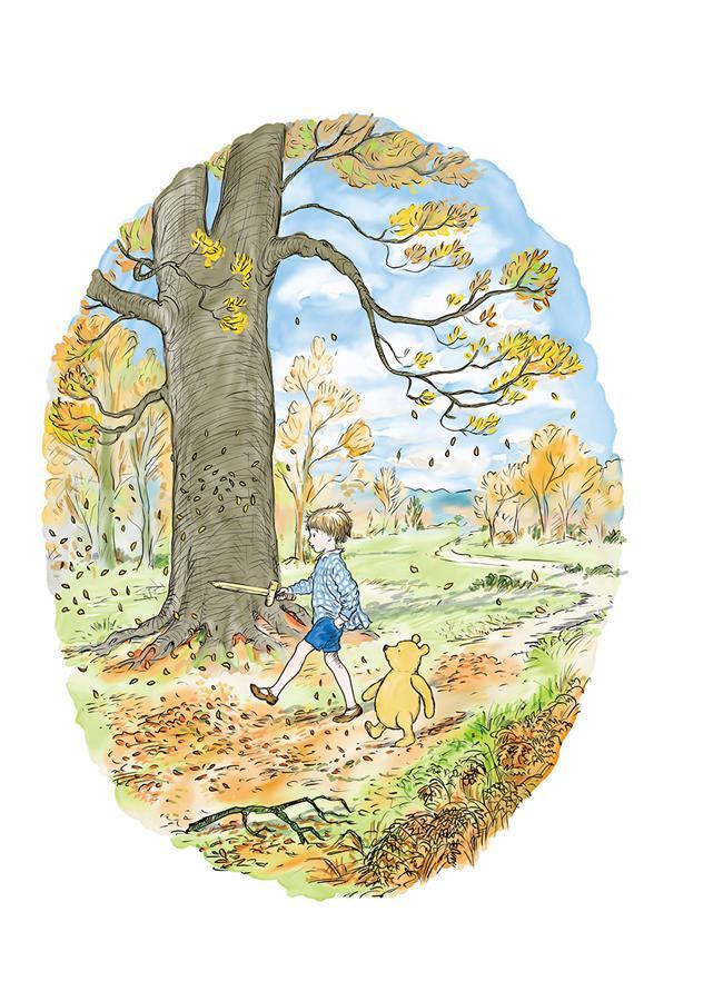 小熊維尼1:全世界最棒的小熊(九十周年紀念版)-ㄚ德俐鼠(書立得)親子童書.繪本.教具.玩具.親子網