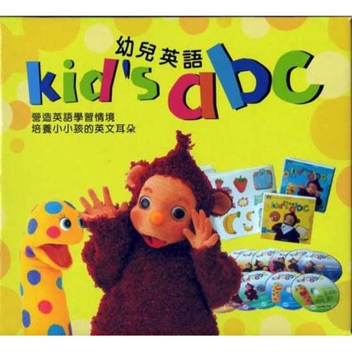 幼兒英語Kids's ABC(24DVD+24書) - 書立得網路書店