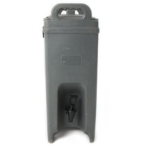 Insulated beverage server in gray