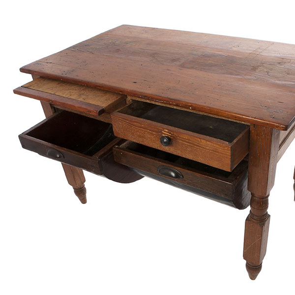 Bakers Table with drawers