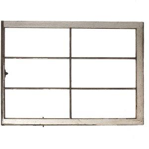 Rustic window frame no glass