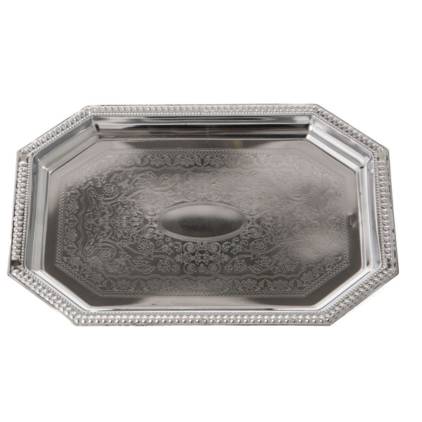 Rectangle stainless tray