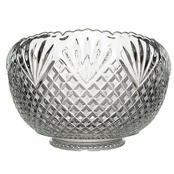 Clear Glass Punch bowl