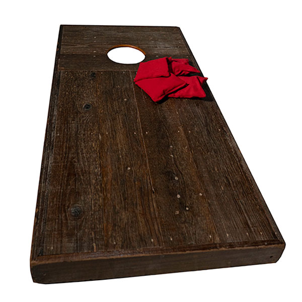 Rustic Corn Hole Game - Bean Bag Toss