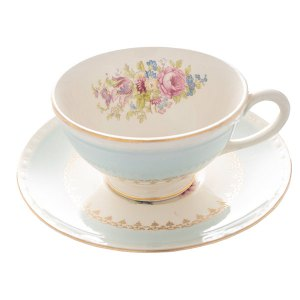 Mix and match vintage china cup and saucers