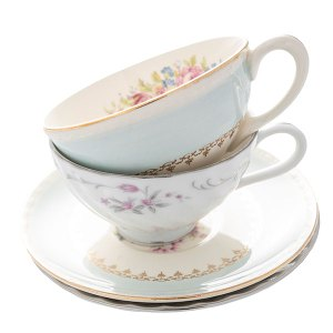 Vintage coffee or tea cups