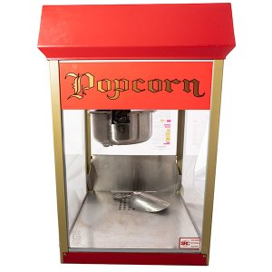 Popcorn machine - fresh hot popcorn maker