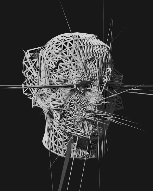 Glitch Art 3D