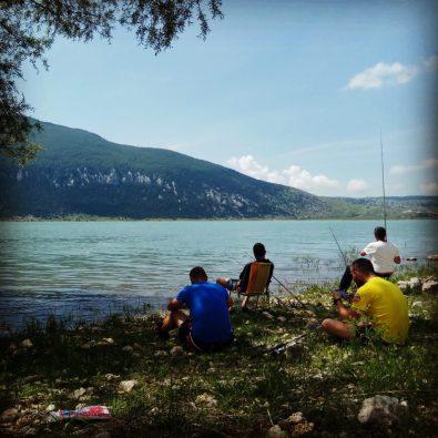 jezero Blidinje-ribolov