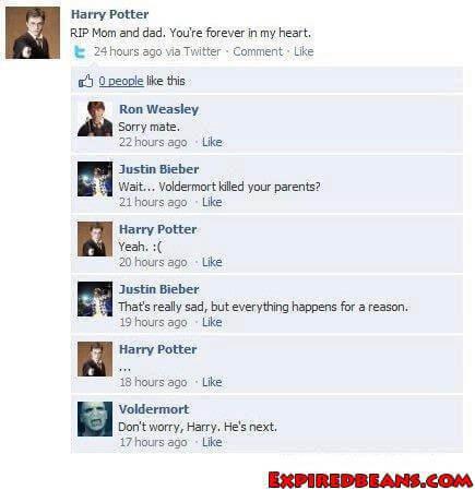 Voldemort strikes again