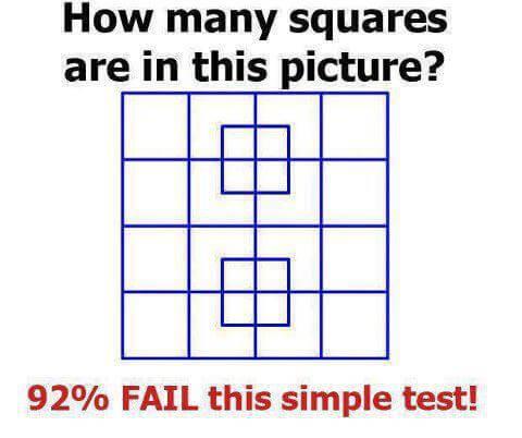 Koliko kvadratića ima na fotografiji?