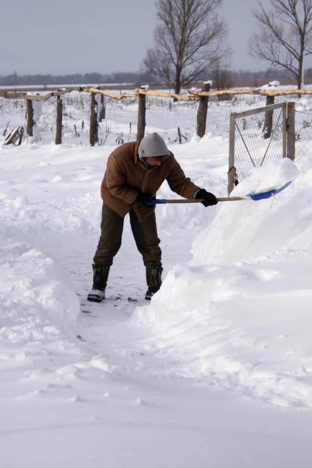 Dobra volja: Studenti besplatno sugrađanima pomažu čistiti snijeg