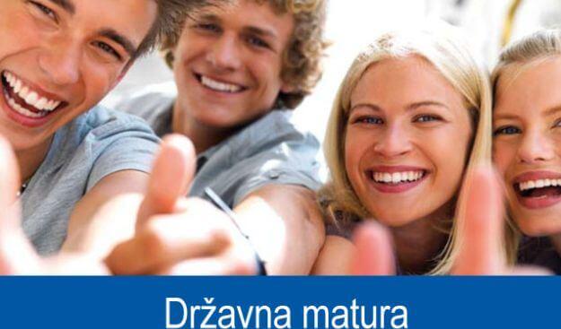 Državna matura: Objavljeni datumi dodatnih ispita uz maturu
