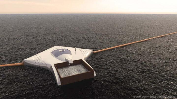 Student (19) izumio uređaj za čišćenje nakupina smeća na oceanima
