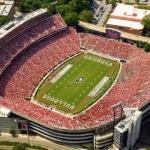 University of Georgia, Sanford stadium - 92 746 sjedala