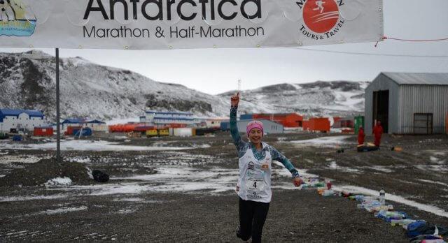 Tinejdžerica (14) istrčala maraton na Antarktici