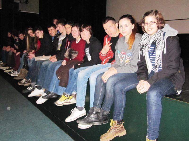 Učenici 13. gimnazije oduševljeni praktičnom i teorijskom nastavom iz Filmske umjetnosti
