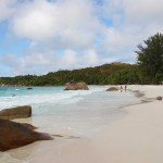 Anse Lazio in the Seychelles' Praslin Island
