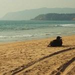 Agonda Beach in Goa, India
