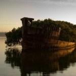 Ostatci SS Ayrfield u Homebush Bayu, Australija