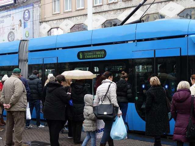 Izvanredno prometno stanje: Večeras se u centru Zagreba obustavlja tramvajski promet