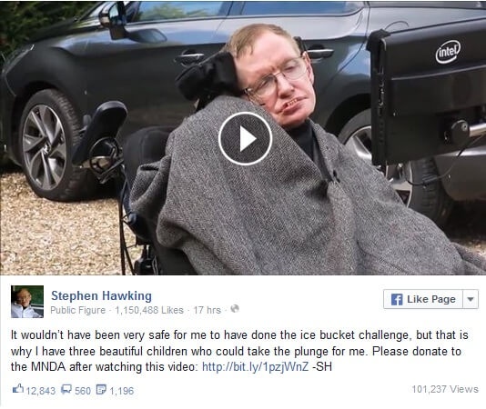 Facebook je postao bogatiji za jedan od najvećih umova – Stephena Hawkinga