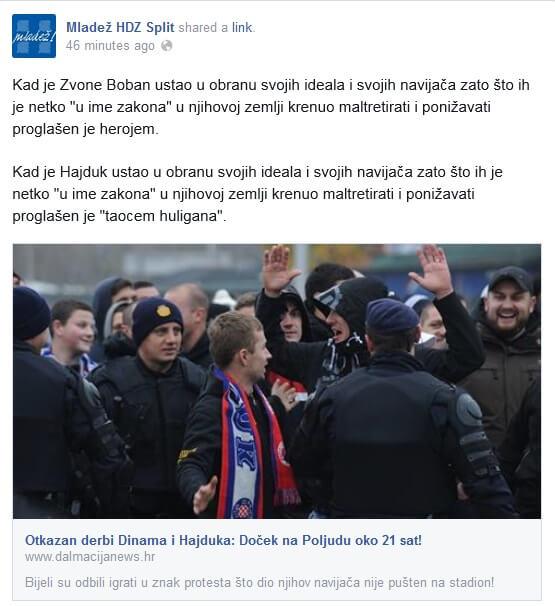 Mladež HDZ-a Split okrenula se protiv stranke i Mamića