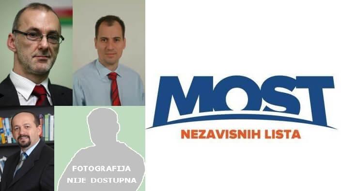 MOST u Sabor šalje četiri profesora sa zagrebačkog Sveučilišta