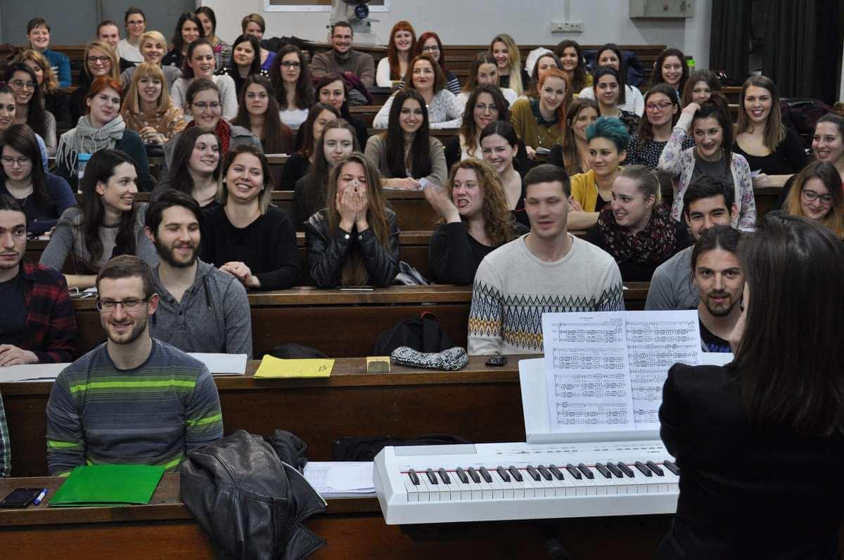 Studentski zbor na Filozofskom najveći je amaterski pjevački zbor u Zagrebu