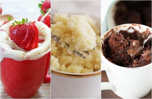 Tri recepta za najfinije kolače iz mikrovalne spremne u pet minuta!