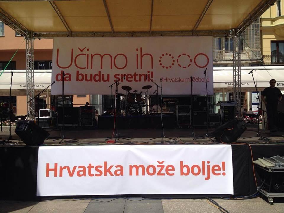 UŽIVO: U Zagrebu se okupilo 40.000 prosvjednika!