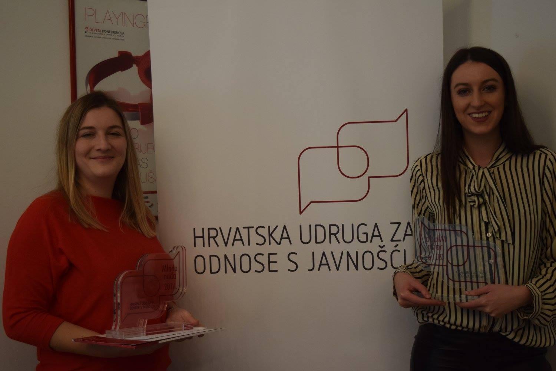 Za svoje zanimljive radove, studentice Nikolina i Tena dobitnice su nagrade 'Mlada nada'
